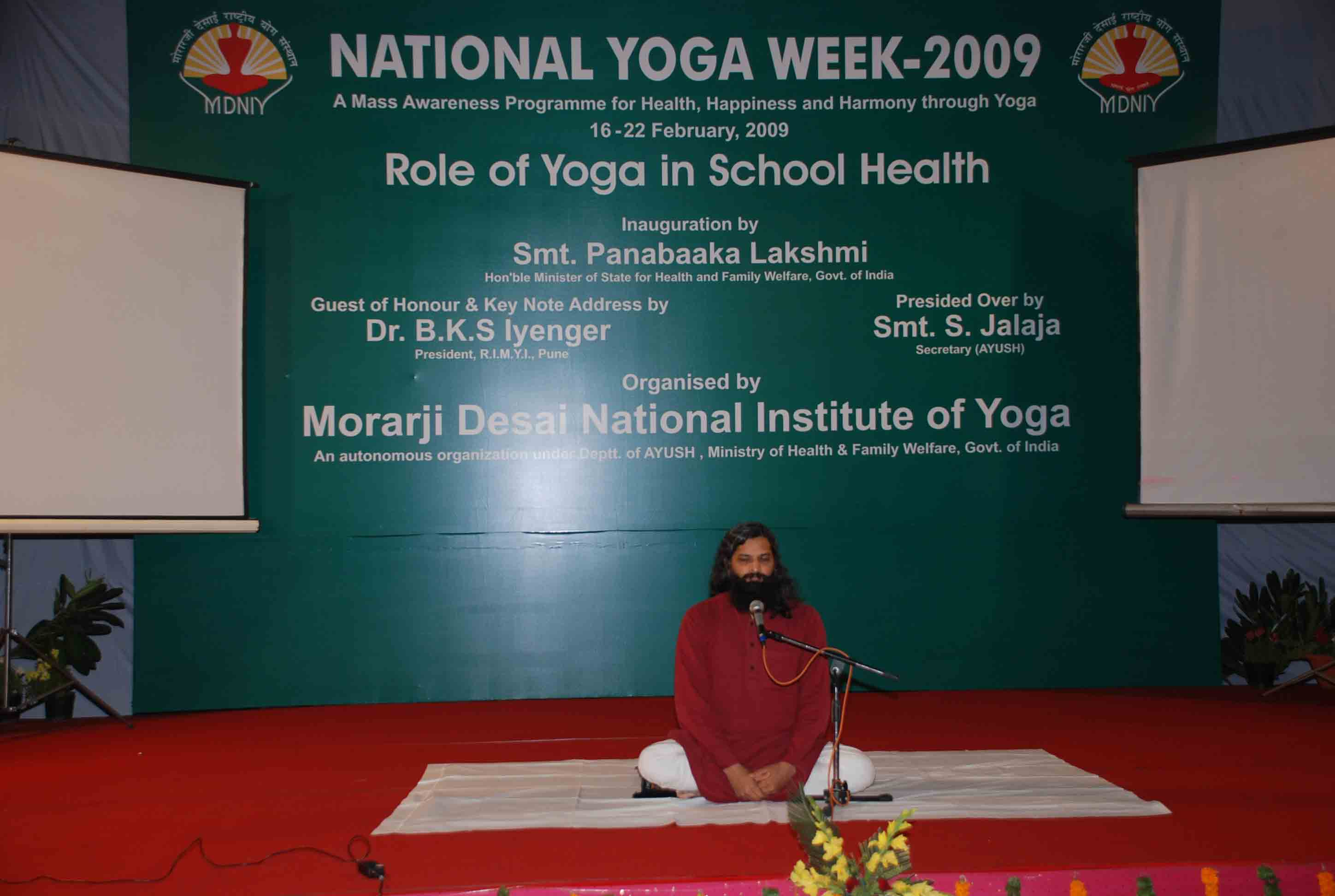 National Yoga Week